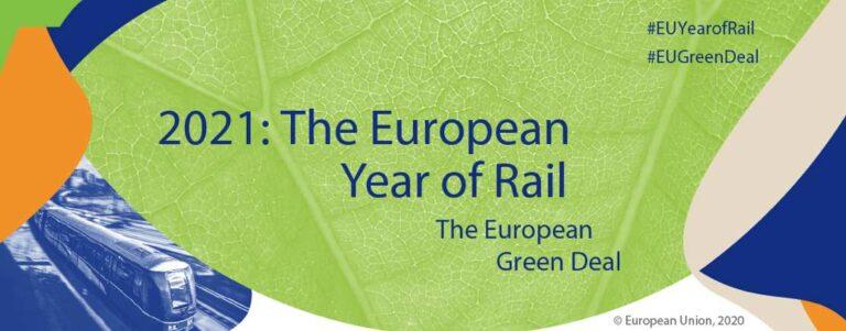 Rok 2021 ogłoszony Europejskim Rokiem Kolei