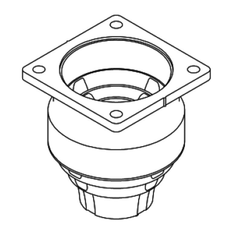 Sprężyny gumowo – metalowe I stopnia sprężynowania